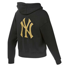 Majestic Womens Barnes NY Hoodie, Black, rebel_hi-res