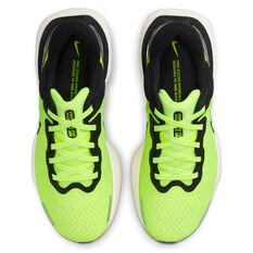 Nike ZoomX Invincible Run Flyknit Mens Running Shoes, Volt/Black, rebel_hi-res
