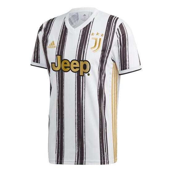 Juventus FC 2020/21 Mens Home Jersey, White, rebel_hi-res