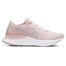 Nike Renew Run Womens Running Shoes Pink/Silver US 6, Pink/Silver, rebel_hi-res