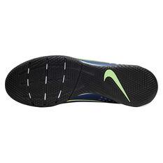 Nike Mercurial Superfly VII Elite Indoor Soccer Shoes Blue / Silver US Mens 12 / Womens 13.5, Blue / Silver, rebel_hi-res