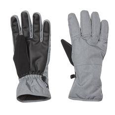 Tahwalhi Mens Chute Gloves Grey S, Grey, rebel_hi-res