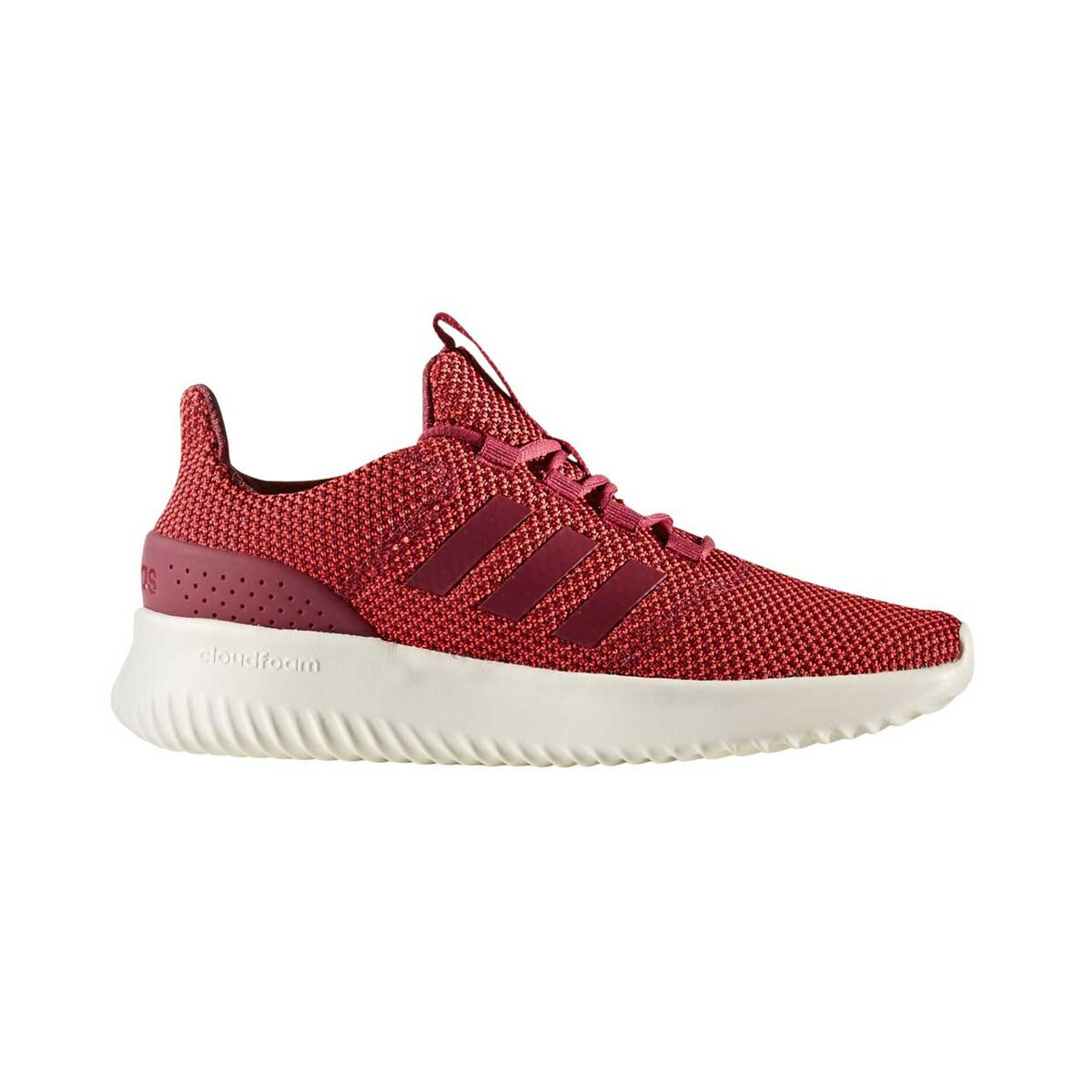 ... best price adidas cloudfoam ultimate womens casual shoes red white us 9  red white 576d6 b3018 d0fef2c6c