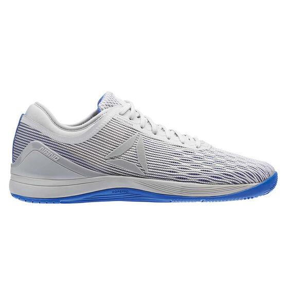 7d37a9bb706 Reebok Crossfit Nano 8.0 Flexweave Mens Training Shoes Grey   Purple US 8