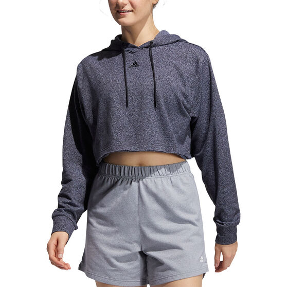 adidas Womens 3 Bar Text Sweatshirt, Black, rebel_hi-res