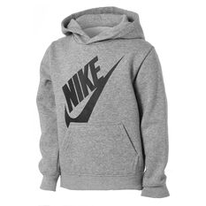 Nike Boys Futura Hoodie Grey 4, Grey, rebel_hi-res