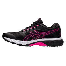 Asics GEL Superion 4 Womens Running Shoes Black/Pink US 6, Black/Pink, rebel_hi-res