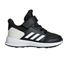 adidas RapidaRun Knit Toddlers Running Shoes Black / White US 4, Black / White, rebel_hi-res