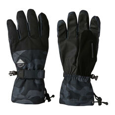 Elude Mens Maximise Ski Gloves Black / Camo S, Black / Camo, rebel_hi-res