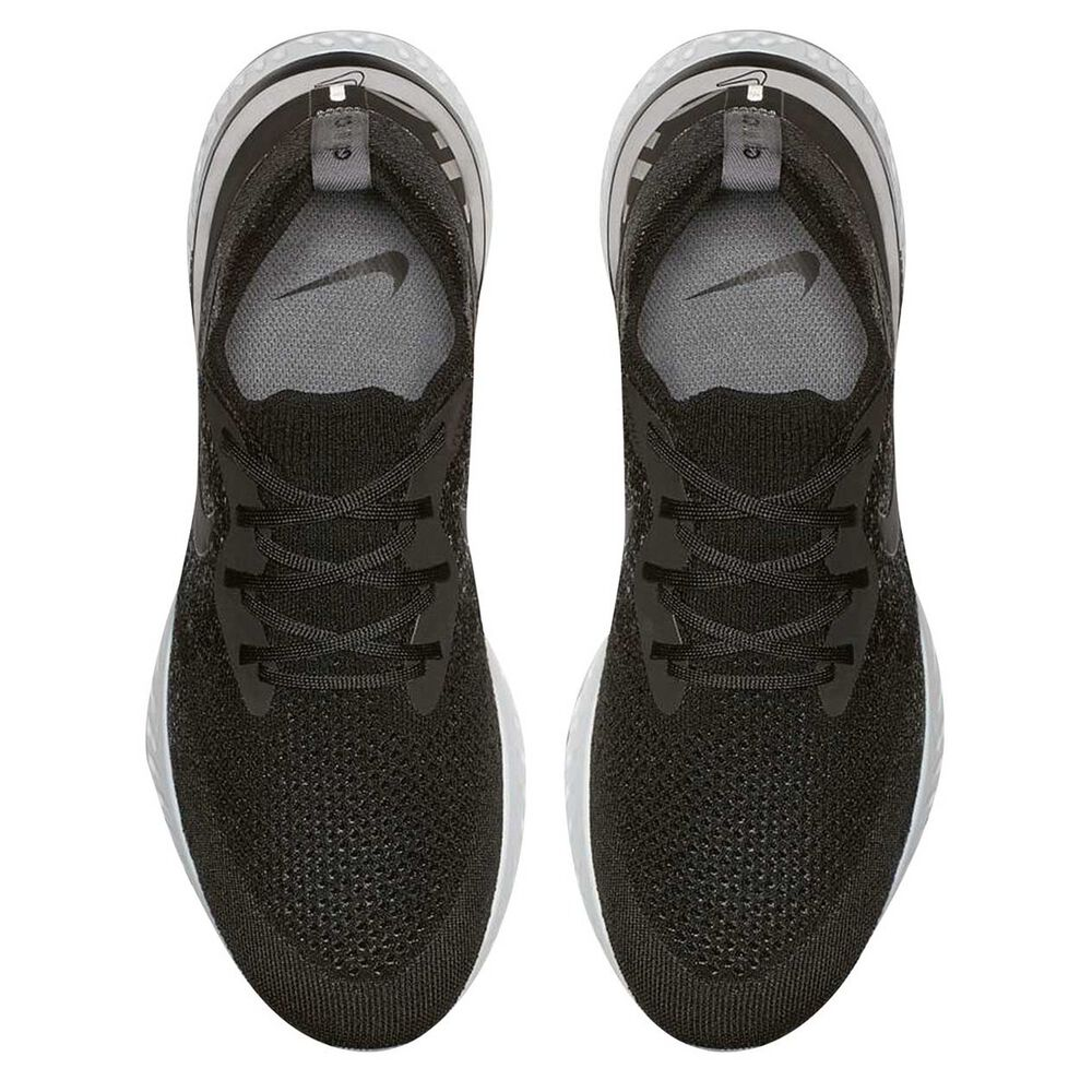 02eb89118c Nike Epic React Flyknit Mens Running Shoes Black / White US 11, Black /  White