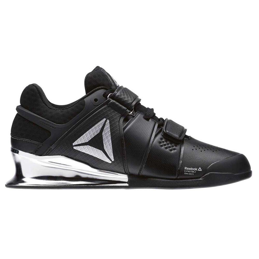 Reebok Legacy Lifter Womens Training Shoes Black   Silver US 8.5 ... b332f992a