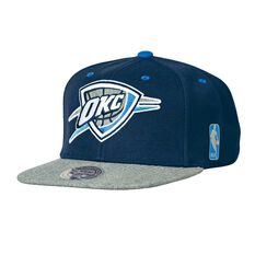 Oklahoma City Thunder NBA Greytist Snapback OSFA, , rebel_hi-res