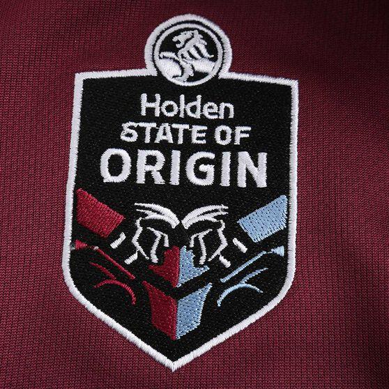 QLD Maroons State of Origin 2020 Kids Home Jersey, Maroon, rebel_hi-res