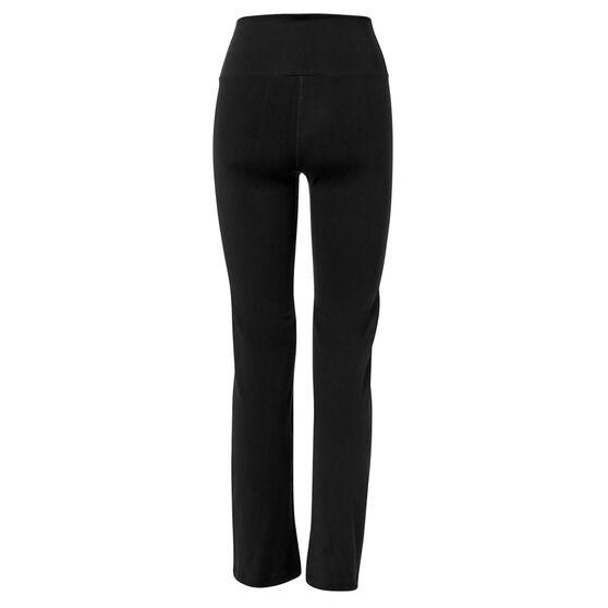 Running Bare Womens Karma Ab Tastic Jazz Bootleg Pants, Black, rebel_hi-res