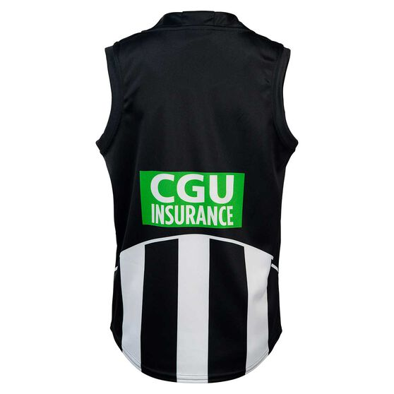 Collingwood Magpies 2020 Kids Home Guernsey, Black / White, rebel_hi-res