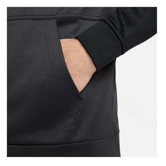 Nike Mens Therma Clash Full-Zip Hoodie, Black, rebel_hi-res