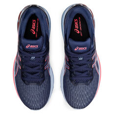 Asics GT 2000 9 D Womens Running Shoes, Blue/Coral, rebel_hi-res