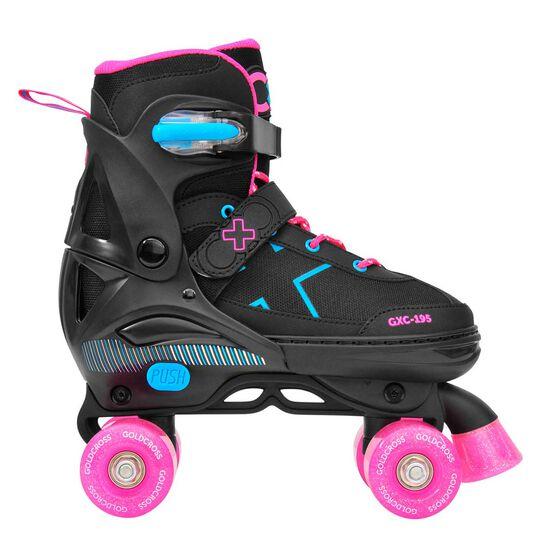Goldcross GXC195 Inline Skates, Black / Pink, rebel_hi-res