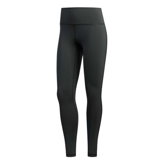 adidas Womens Believe This 7 / 8 Training Tights, Grey, rebel_hi-res