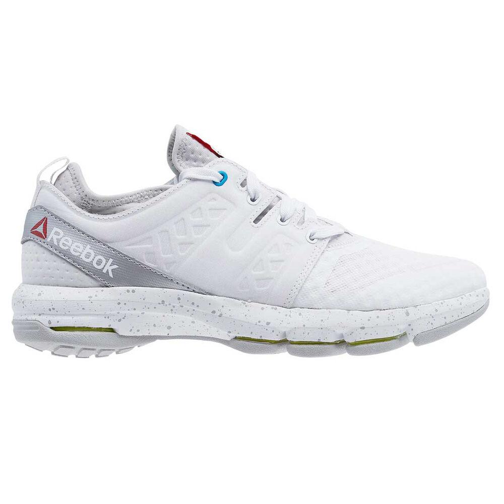 0f0fd979982 Reebok CloudRide DMX Womens Walking Shoes White / Grey US 8, White / Grey,