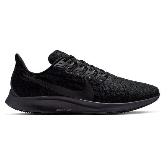 Nike Air Zoom Pegasus 36 Mens Running Shoes, Black, rebel_hi-res