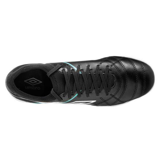 Umbro Medusae III Club Indoor Soccer Shoes, Black / White, rebel_hi-res