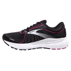 Brooks Adrenaline GTS 21 Womens Running Shoes Black/Pink US 6, Black/Pink, rebel_hi-res