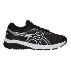 4e2e5e89a9 Asics GT 1000 7 Boys Running Shoes Black / White US 4, Black / White ...