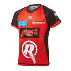 Melbourne Renegades 2019 Kids Jersey Red 8, Red, rebel_hi-res