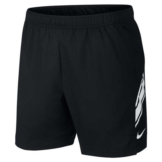Nike Mens Dri FIT 7in Shorts, Black, rebel_hi-res