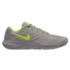 Nike Lunar Prime Iron II Mens Training Shoes Grey US 7, Grey, rebel_hi-res