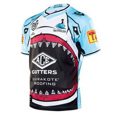 Cronulla-Sutherland Sharks 2020 Mens NRL Nines Jersey Blue S, Blue, rebel_hi-res