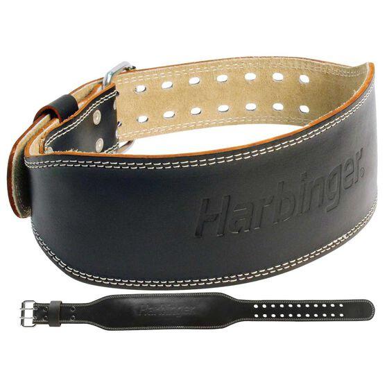 Harbinger 4in Leather Weight Lifting Belt, , rebel_hi-res