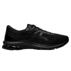 Asics GT 1000 9 Mens Running Shoes Black US 7, Black, rebel_hi-res
