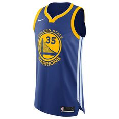 Nike Golden State Warriors Durant Authentic Mens 2018 Jersey, , rebel_hi-res