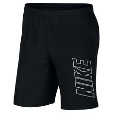 Nike Mens Dri-FIT Academy Soccer Shorts Black S, Black, rebel_hi-res