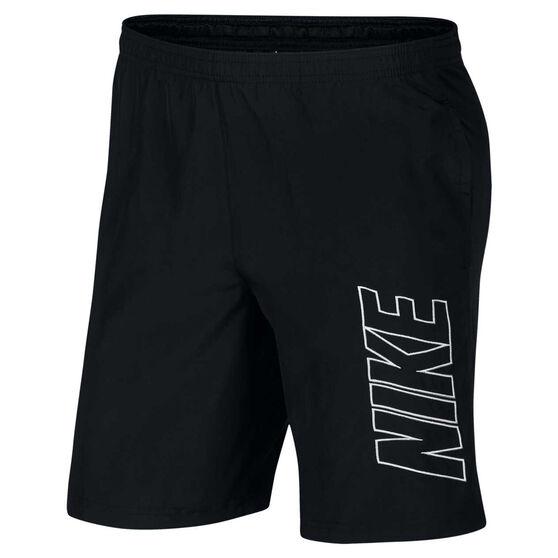 Nike Mens Dri-FIT Academy Soccer Shorts Black S, Black, rebel_hi-res