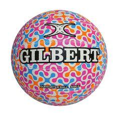 Gilbert Glam Spinner Netball Multi 5, , rebel_hi-res