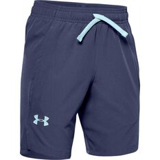 Under Armour Boys Woven Shorts Blue XS, Blue, rebel_hi-res