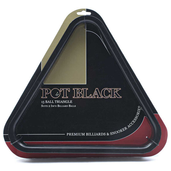 Pot Black Plastic Triangle, , rebel_hi-res