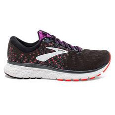 Brooks Glycerin 17 Womens Running Shoes Black / Pink US 6, Black / Pink, rebel_hi-res