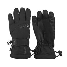 Elude Boys Maximise Ski Gloves Black 4, Black, rebel_hi-res