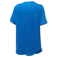 Majestic Los Angeles Dodgers Men's Wordmark Jersey Blue S, Blue, rebel_hi-res