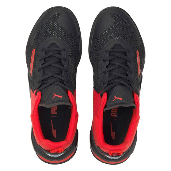 Puma Fuse Mens Training Shoes, Red/Black, rebel_hi-res