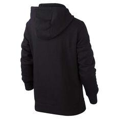 Nike Girls Sportswear Pullover Hoodie Black XS, Black, rebel_hi-res