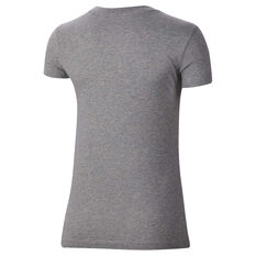 Nike Womens Sportswear Just Do It Tee Grey XS, Grey, rebel_hi-res