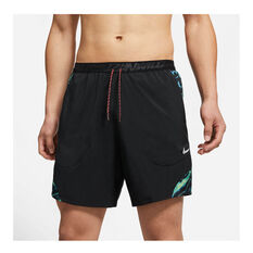Nike Mens Flex Stride Wild Run Running Shorts Black S, Black, rebel_hi-res