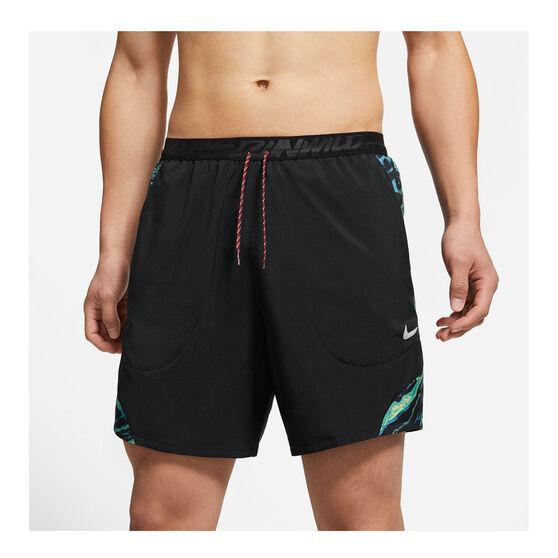 Nike Mens Flex Stride Wild Run Running Shorts, Black, rebel_hi-res