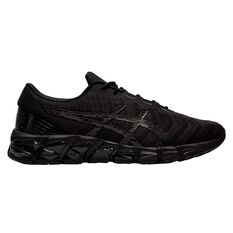 Asics GEL Quantum 180 5 Mens Training Shoes Black US 7, Black, rebel_hi-res