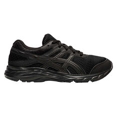 Asics GEL Contend 6 Kids Running Shoes Black US 4, Black, rebel_hi-res